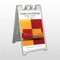 Art Furnishing 535 A Frame Sign