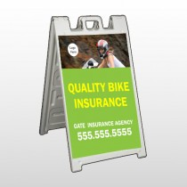 Bike Insurance 110 A Frame Sign