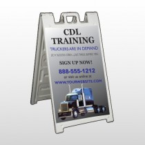 CDL Training 155 A Frame Sign