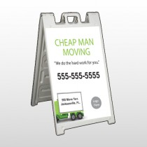 Moving 339 A Frame Sign