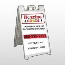 Sporting Goods 528 A Frame Sign