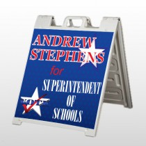 Superintendent 306 A Frame Sign
