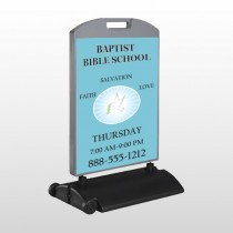 Bibledove 162 Wind Frame Sign