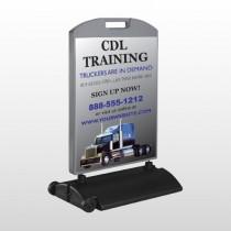 CDL Training 155 Wind Frame Sign