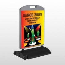 Dance Disco 518 Wind Frame Sign