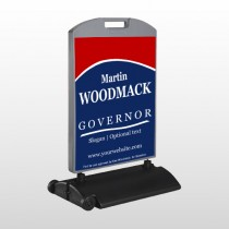 Governor 308 Wind Frame Sign