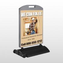 Handyman 243 Wind Frame Sign