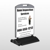 Inspection 360 Wind Frame Sign