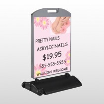 Nail Salon 291 Wind Frame Sign