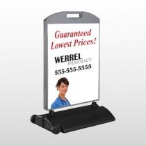 Pharmacist 104 Wind Frame Sign