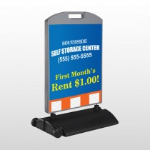 Storage Building 120 Wind Frame Sign
