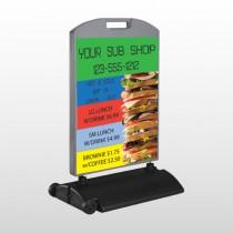 Sandwich 375 Wind Frame Sign