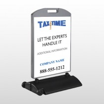 Tax Time 153 Wind Frame Sign