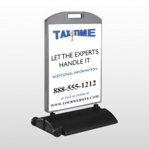 Tax Time 171 Wind Frame Sign