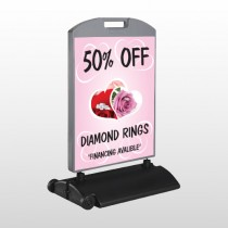 Pinkrose Hidden Ring 399 Wind Frame Sign