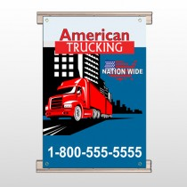 American Truck 295 Track Banner