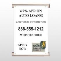 Auto Loan 155 Track Banner