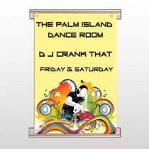 DJ Crank Night 369 Track Banner