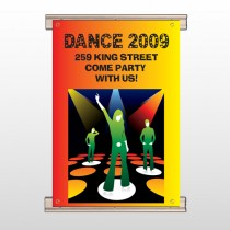 Dance Disco 518 Track Banner