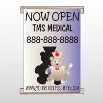 Nurse Bear 504 Track Banner