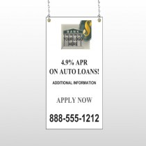 Auto Loan 173 Window Sign
