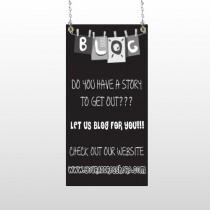 Blog Line 430 Window Sign