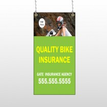 Bike Insurance 110 Window Sign