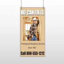 Handyman 243 Window Sign