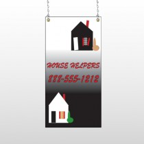 Househelper 245 Window Sign