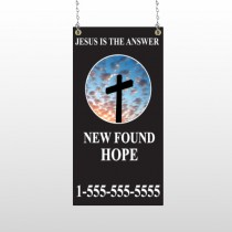 New Found Hope 01 Window Sign