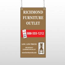 Outlet Chair 527 Window Sign