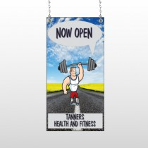 Road Workout 407 Window Sign