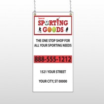 Sporting Goods 528 Window Sign