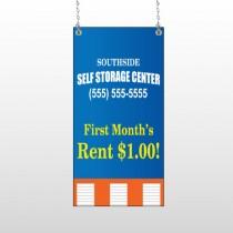 Storage Building 120 Window Sign