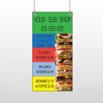 Sandwich 375 Window Sign