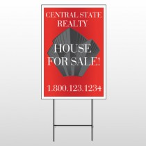 Buildings 227 Wire Frame Sign