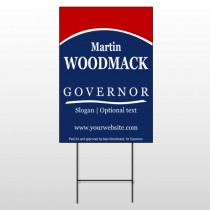 Governor 308 Wire Frame Sign