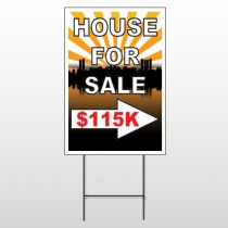 House Sale 719 Wire Frame Sign