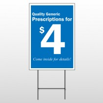 Pharmacy 102 Wire Frame Sign