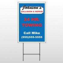 Repair 124 Wire Frame Sign