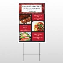 Restaurant Specials 370 Wire Frame Sign