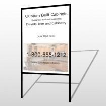 Cabinet 241 H-Frame Sign