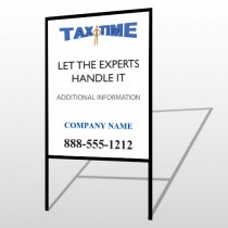 Tax Time 153 H Frame Sign