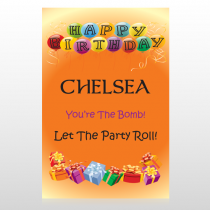 Birthday Balloons 185 Custom Decal