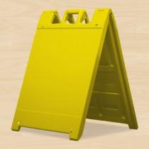 """A Frame 24""""H x 24""""W Yellow"""