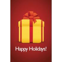Big Gift Happy Holiday