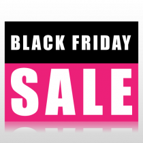 Black Friday Sale Sign Panel
