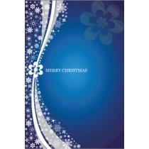 Blue Burst Christmas