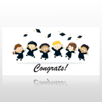 Childrens Congratulations Graduation Banner