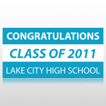 Congratulations Class of 20XX Graduation Banner
